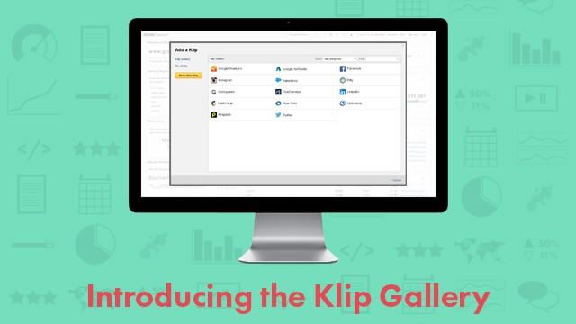 Klip Gallery for Auto-Generating Metrics