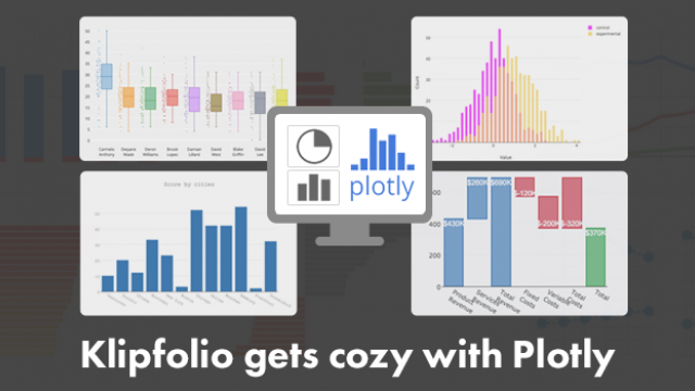 Klipfolio gets cozy with Plotly