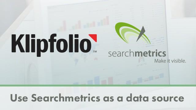 klipfolio - searchmetrics data source
