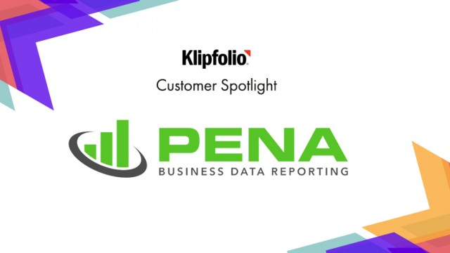 Customer Spotlight | Pena Business Data Reporting