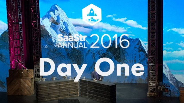 Startup Founder Blog | SaaStr Annual Conference - Day 1