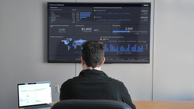 klipfolio - tv dashboard