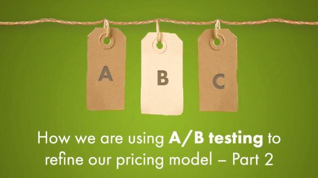 klipfolio - a/b testing to refine pricing model