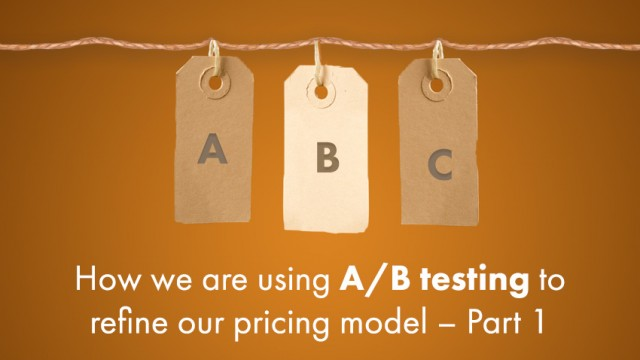 klipfolio - ab test pricing model