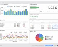 Sales Dashboard Examples   Saleforce Dashboard