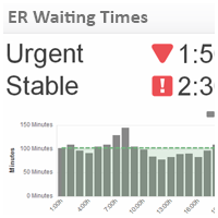 Healthcare KPI Examples | ER Waiting Times